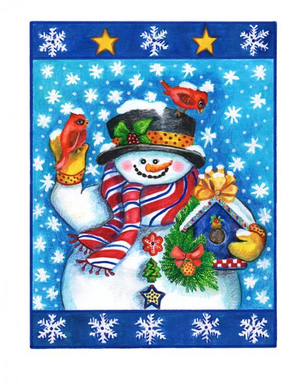 Web-B-052-Snowman