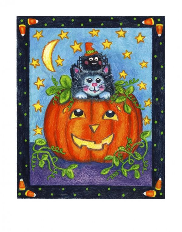 300 H001 Pumpkin-cat