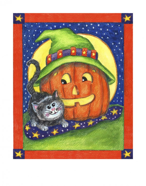 300 H002 Pumpkin-cat